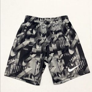 NIKE All Over Print Pull-on Shorts